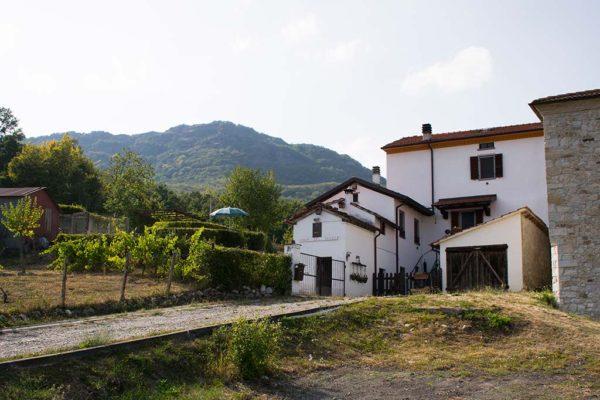 bed and breakfast Casa del Ghiro Bardi giardino