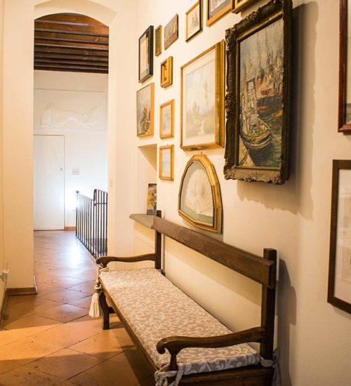 bed and breakfast Al Battistero d'oro Parma corridoio