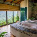 bed and breakfast Cà del Lupo ai Bergazzi centro benessere vista vasche idromassaggio